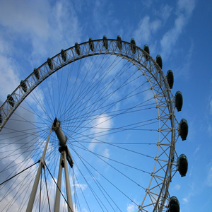 London Eye, another place you can visit during your study time in England
