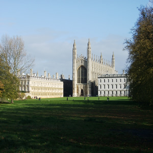 Beautriful Cambridge University. No better place to do grad school in england
