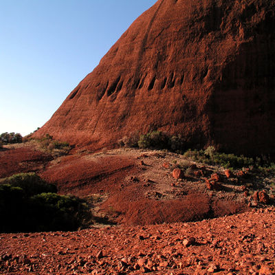 The outback of Australia. You must experience this during your grad school in Australia