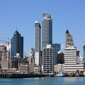 The beautiful city of Auckland